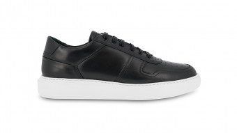 men sneakers black cosmos