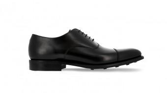 men formal shoes black rubber sole westminster