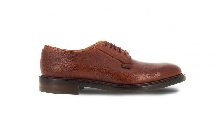 men formal shoes mahogany rubber sole pimlico