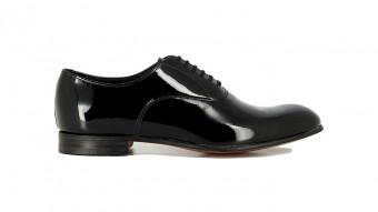 men formal shoes black patent burlington