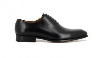 men formal shoes black santiago