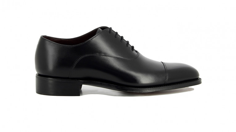 men formal shoes black st james