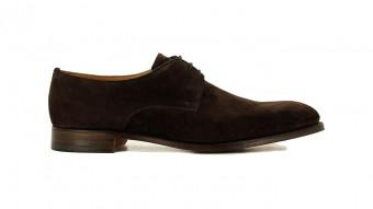 mens formal shoes dark brown hampstead